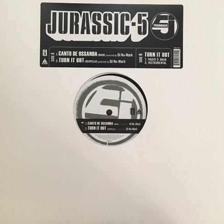 DJ Nu-Mark - Jurassic 5 - Canto De Ossanha