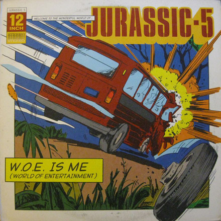 DJ Nu-Mark - Jurassic 5 - Woe Is Me