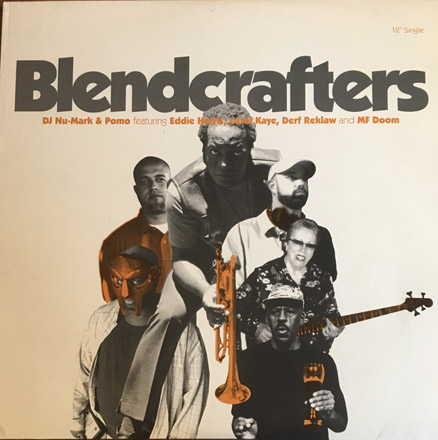 DJ Nu-Mark - Blend Crafters - featuring Eddie Harris - Black And Bold