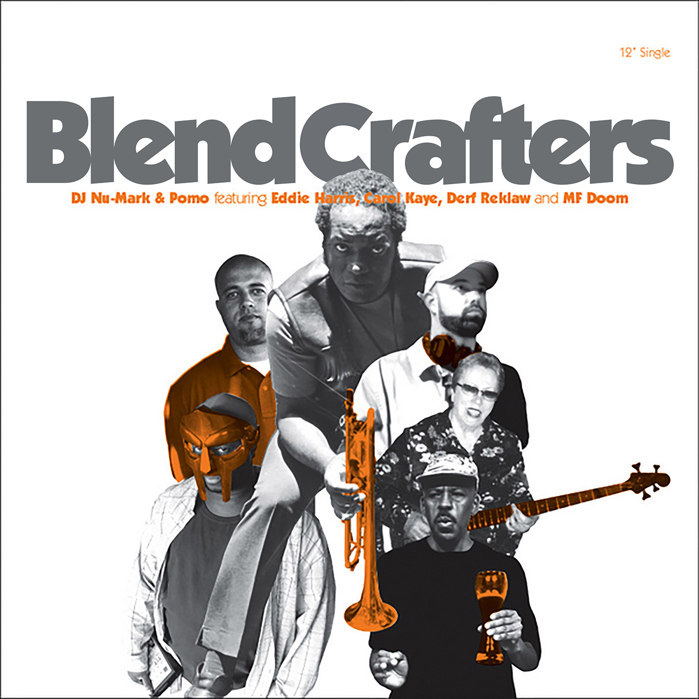 Blend Crafters - featuring Eddie Harris - Black And Bold