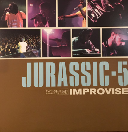 DJ Nu-Mark - Jurassic 5 - Improvise
