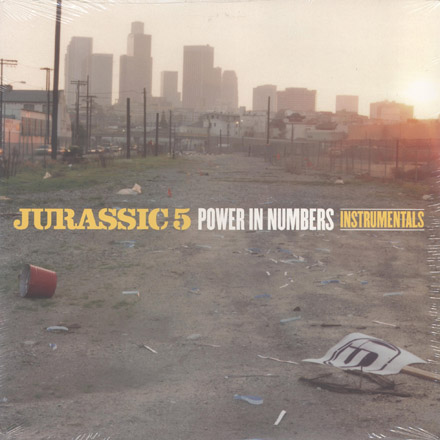 DJ Nu-Mark - Jurassic 5 - Power In Numbers Instrumentals