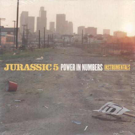 DJ Nu-Mark - Jurassic 5 - Power In Numbers Instrumentals