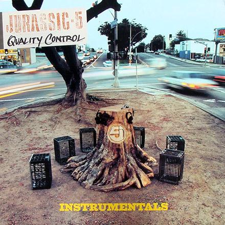 DJ Nu-Mark - Jurassic 5 - Quality Control Instrumentals