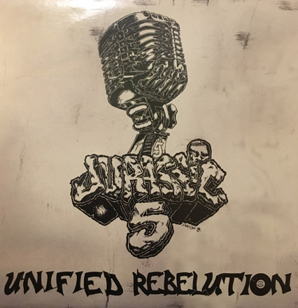 DJ Nu-Mark - Jurassic 5 - Unified Rebelution (Cover Art Release)