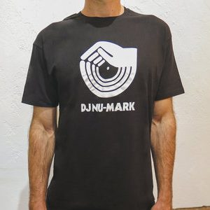 DJ Nu-Mark - Tee Shirt - Hand Logo - Black