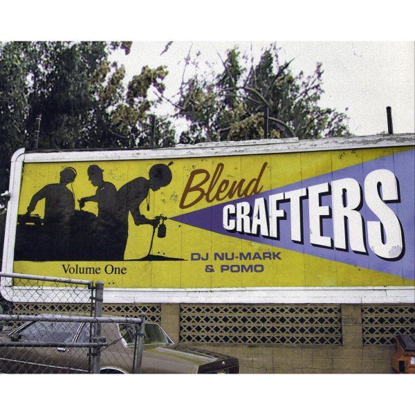 DJ Nu-Mark - Blend Crafters Album Art