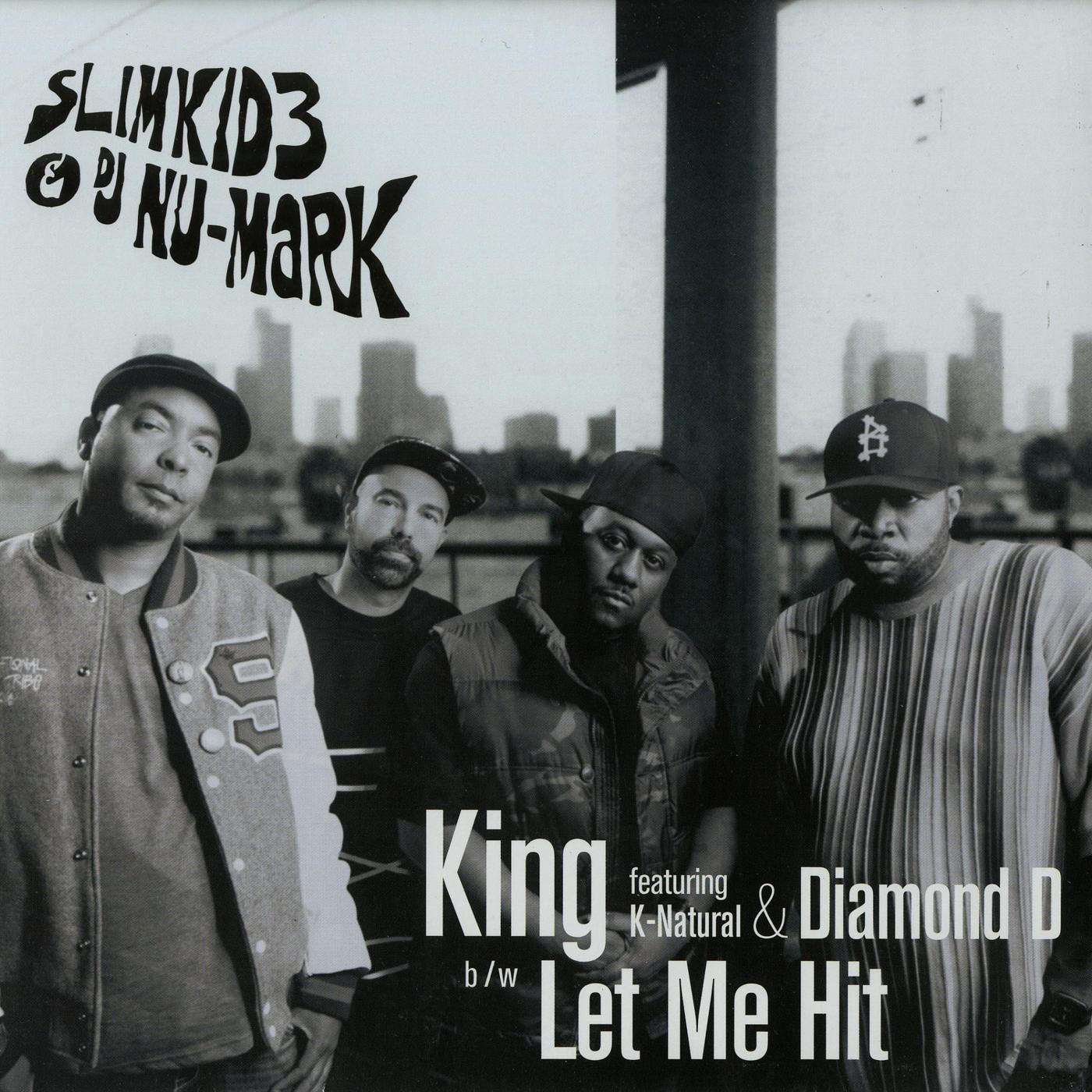 Slimkid3 & DJ Nu-Mark - King_1400x1400