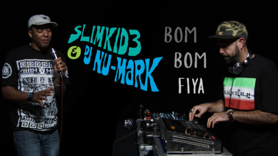 DJ NU-MARK - BOM BOM FIYA YOUTUBE THUMBNAIL