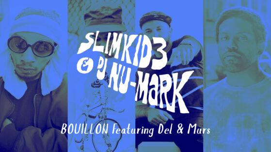 DJ NU-MARK - BOUILLON YOUTUBE THUMBNAIL