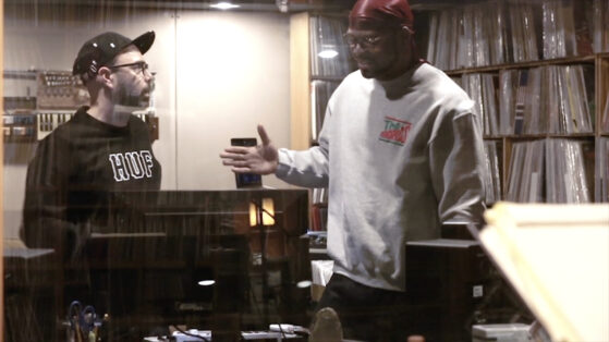 DJ Nu-Mark & Method Man In Studio