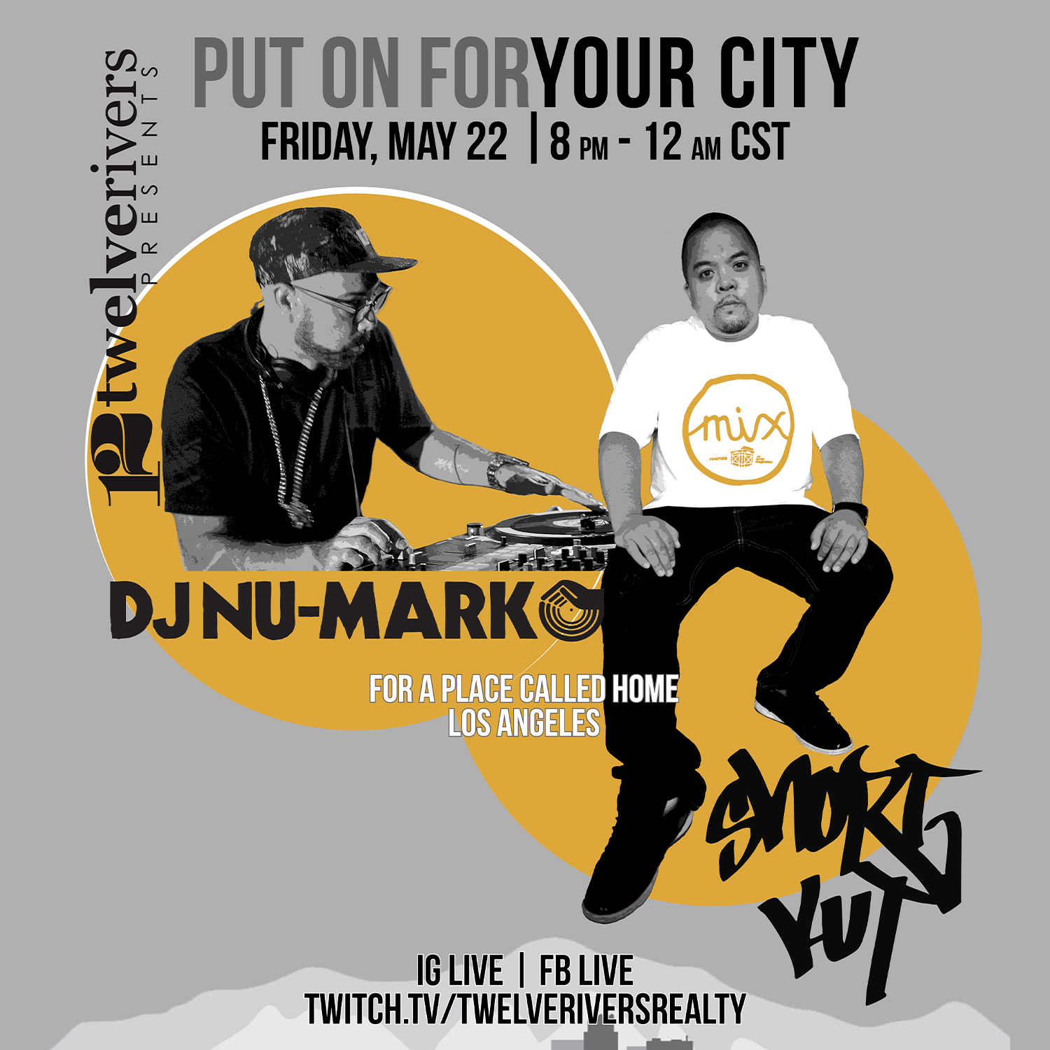 DJ Nu-Mark - Put On For Your City Mix